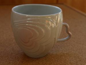 ハート マグカップ