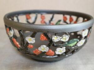 透かし彫り 梅鉢